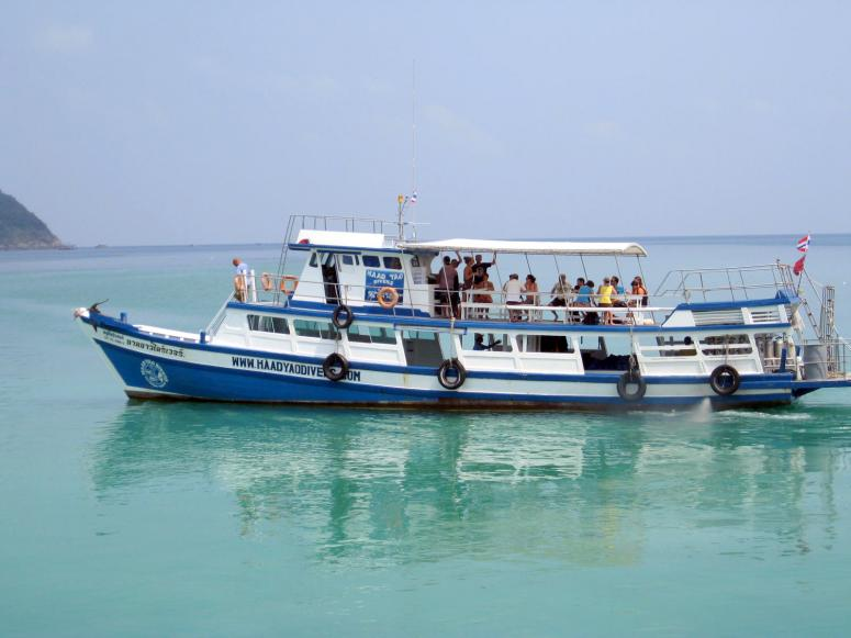 Dive Boat Haad Yao Divers