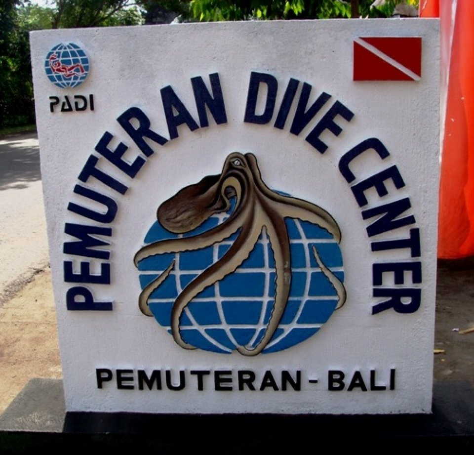 Sign Pemuteran Dive Center