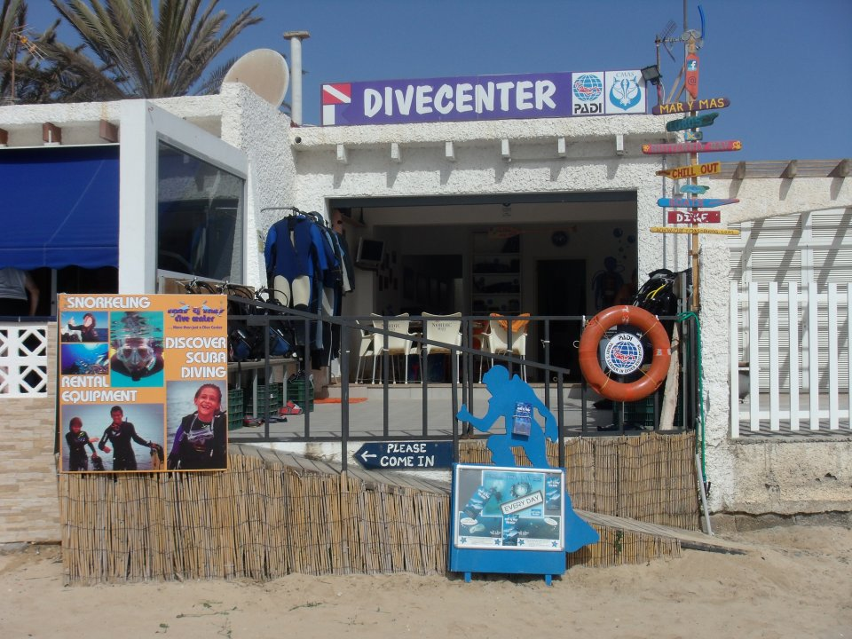 The dive centre